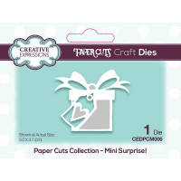 Paper Cuts Mini Craft Die - Surprise!