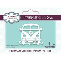 Paper Cuts Mini Craft Die - On The Road
