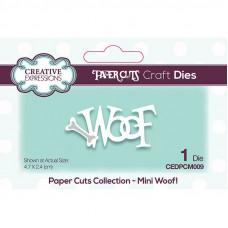 Paper Cuts Mini Craft Die - Woof