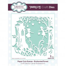 Paper Cuts Scene - Enchanted Forest Craft Die