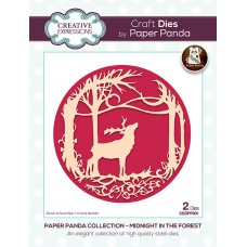 Paper Panda - Midnight In The Forest Craft Die - DISPATCHING TUESDAY 14th JULY
