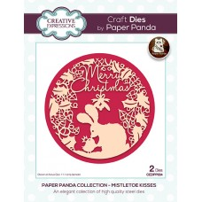 Paper Panda - Mistletoe Kisses Craft Die - DISPATCHING TUESDAY 14th JULY