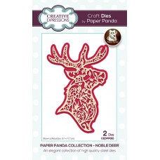 Paper Panda - Noble Deer Craft Die - DISPATCHING TUESDAY 14th JULY