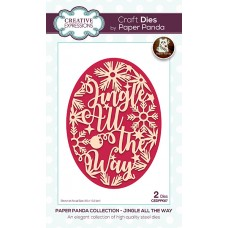 Paper Panda - Jingle All The Way Craft Die - DISPATCHING TUESDAY 14th JULY