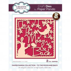 Paper Panda - To The Moon And Back Craft Die