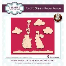 Paper Panda - A Balanced Diet Craft Die