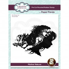 Paper Panda - Mother Nature Pre Cut Rubber Stamp