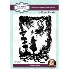 Paper Panda - Cheshire Cat Pre Cut Rubber Stamp