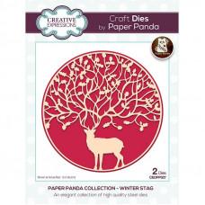 Paper Panda - Winter Stag Craft Die
