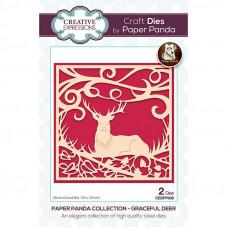 Paper Panda - Grateful Deer Craft Die