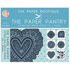 The Paper Boutique Paper Pantry - Special Edition Cutting Files Doilies Vol 1 USB Collection