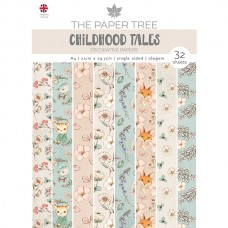 The Paper Tree - Childhood Tales - A4 Backing Papers