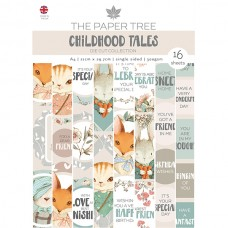 The Paper Tree - Childhood Tales - A4 Die Cut Sheets