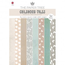 The Paper Tree - Childhood Tales - A4 Essential Colour Card