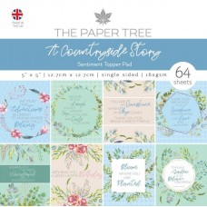 The Paper Tree - A Countryside Story 5x5 Sentiments Pad