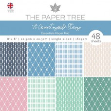 The Paper Tree - A Countryside Story 8x8 Essentials Pad