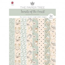 The Paper Tree - Secrets of the Forest - A4 Backing Papers