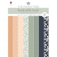 The Paper Tree - Secrets of the Forest - A4 Essential Colour Card