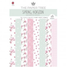 The Paper Tree - Spring Horizon A4 Backing Papers