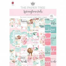 The Paper Tree - Springtime Pals - A4 Die Cut Collection