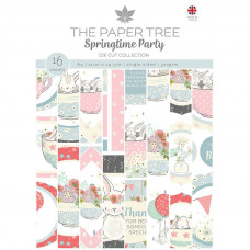 The Paper Tree - Springtime Party A4 Die Cut Sheets