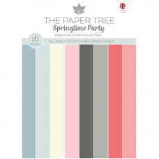The Paper Tree - Springtime Party A4 Essential Colour Card