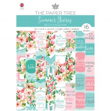 The Paper Tree - Summer Shores - A4 Die Cut Sheets