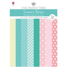 The Paper Tree - Summer Shores - A4 Essential Colour Card