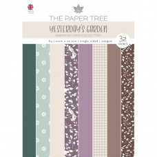 The Paper Tree - Yesterdays Garden A4 Essential Colour Card