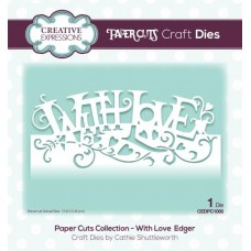 Paper Cuts Collection - With Love Edger