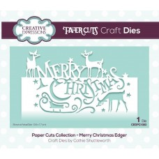 Paper Cuts Collection - Merry Christmas Craft Die