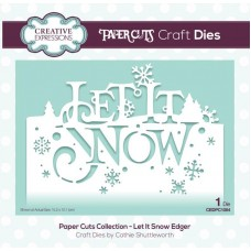 Paper Cuts Collection - Let It Snow Craft Die