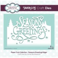 Paper Cuts Collection - Seasons Greetings Craft Die
