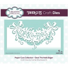 Paper Cuts Collection - Deck the Halls Craft Die