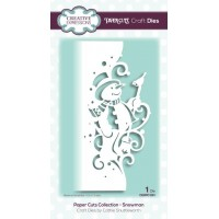 Paper Cuts Collection - Snowman Craft Die - DISPATCHING TUESDAY 27th AUGUST