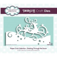 Paper Cuts Collection - Dashing Through the Snow Craft Die