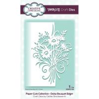 Paper Cuts Edger Craft Die - Daisy Bouquet