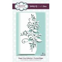 Paper Cuts Collection - Fuchsia Edger