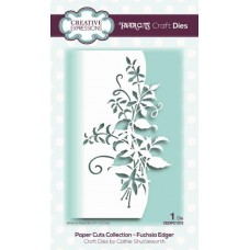 Paper Cuts Collection - Fuchsia Edger