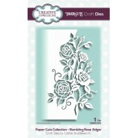 Paper Cuts Collection - Rambling Rose Edger