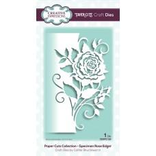 Paper Cuts - Specimen Rose Edger Craft Die