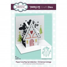 Paper Cuts Pop Up Collection - Christmas Cottage