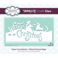 Paper Cuts - White Christmas Edger Die