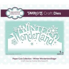 Paper Cuts - Winter Wonderland Edger Die