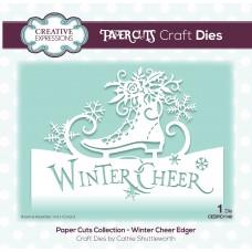 Paper Cuts - Winter Cheer Edger Die