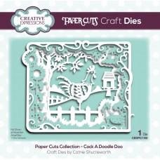 Paper Cuts - Cock A Doodle Doo Craft Die
