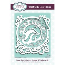 Paper Cuts - Badger & The Butterfly Craft Die