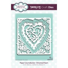 Paper Cuts - Entwined Heart  Craft Die