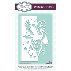 Paper Cuts Edger Craft Die - Special Delivery
