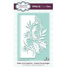 Paper Cuts Edger Craft Die - Tropical Toucan